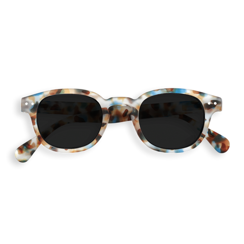 Izipizi - #C Green Crystal Sunglasses / Grey Lenses