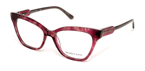 Marciano - GM0331 Red Havana Eyeglasses / Demo Lenses