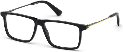Diesel - DL5312 Shiny Black Eyeglasses / Demo Lenses