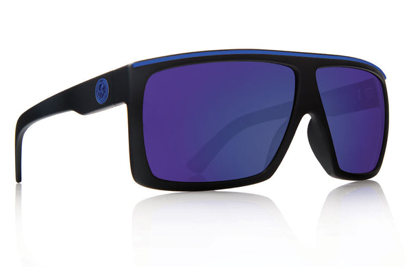 Dragon - Fame H2O Matte Black / Blue Ion Performance Polar Sunglasses