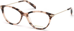 Emilio Pucci - EP5082 Colored Havana Eyeglasses / Demo Lenses