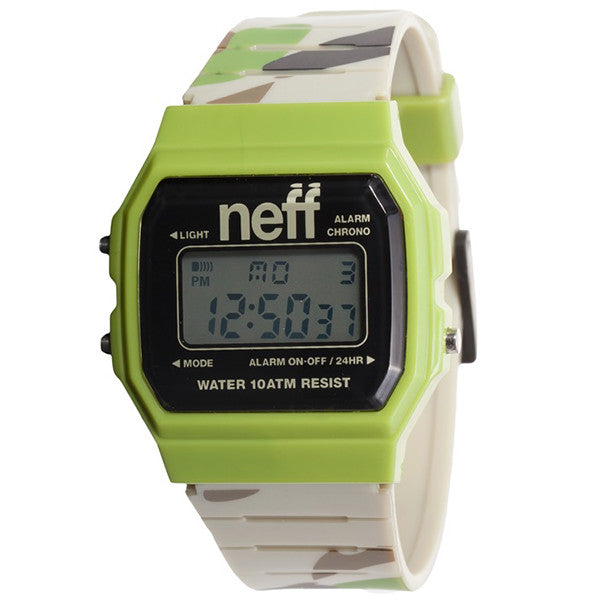 Neff - Flava XL Surf Camo Watch