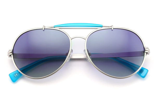 Wildfox - Goldie Silver & Turks Sunglasses