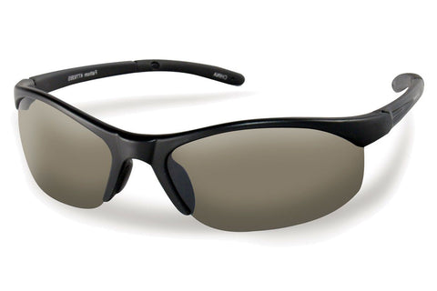 Flying Fisherman - Bristol 7793 Black Sunglasses, Smoke Lenses