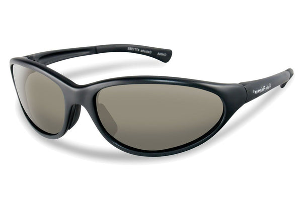 Flying Fisherman - Calcutta 7713 Black Sunglasses, Smoke Lenses