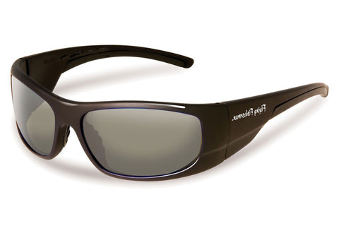 Flying Fisherman - Cape Horn 7738 Black Sunglasses, Smoke Lenses