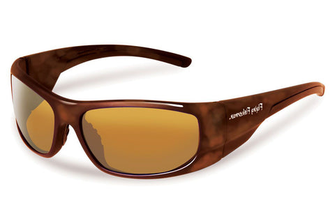 Flying Fisherman - Cape Horn 7738 Tortoise Sunglasses, Amber Lenses