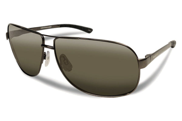 Flying Fisherman - Highlander 7816 Gunmetal Sunglasses, Smoke Lenses
