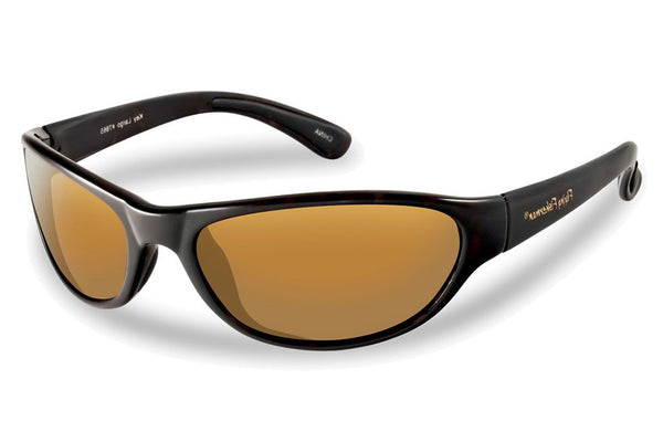 Flying Fisherman - Key Largo 7865 Black Sunglasses, Amber Lenses