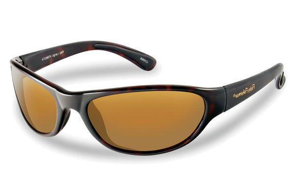 Flying Fisherman - Key Largo 7865 Tortoise Sunglasses, Amber Lenses