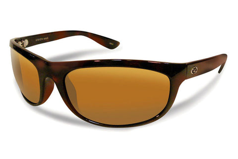 Flying Fisherman - Azore 7215 Tortoise Sunglasses, Amber Lenses