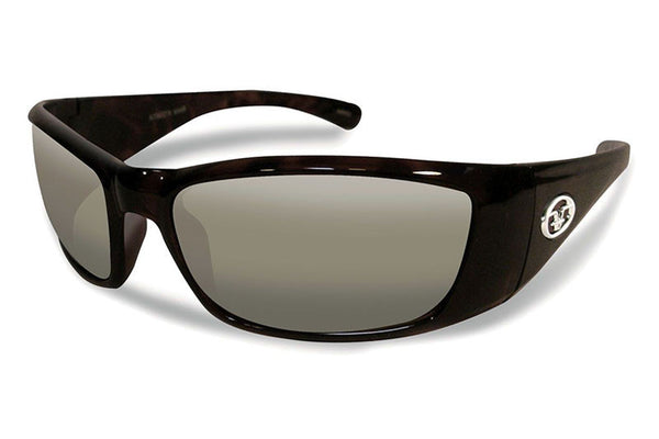 Flying Fisherman - Boca Grande 7236 Black Sunglasses, Smoke Lenses