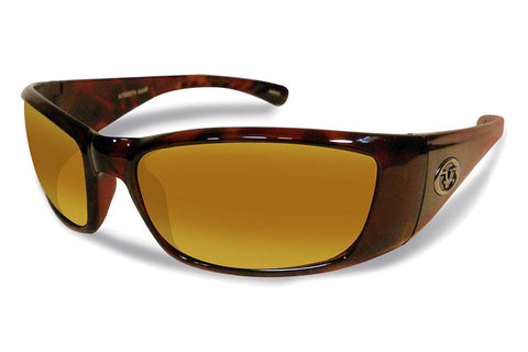 Flying Fisherman - Boca Grande 7236 Tortoise Sunglasses, Amber Lenses