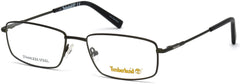 Timberland - TB1607 48mm Matte Dark Green Eyeglasses / Demo Lenses