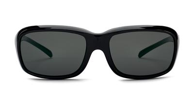 Kaenon - Burnet Mid Matte Black Sunglasses / Grey 12 Pacific Blue Mirror Lenses