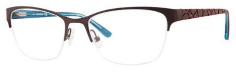Adensco - Ad 221 51mm Plum Eyeglasses / Demo Lenses