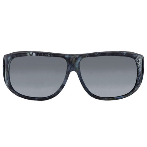 Jonathan Paul Fitovers - Aviator Kryptek Neptune Fitover Sunglasses / Polarvue Gray Lenses