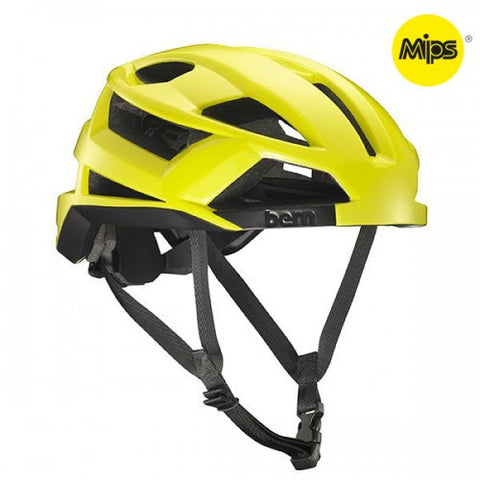 Bern - FL-1 With MIPS High Beam Yellow Bike Helmet