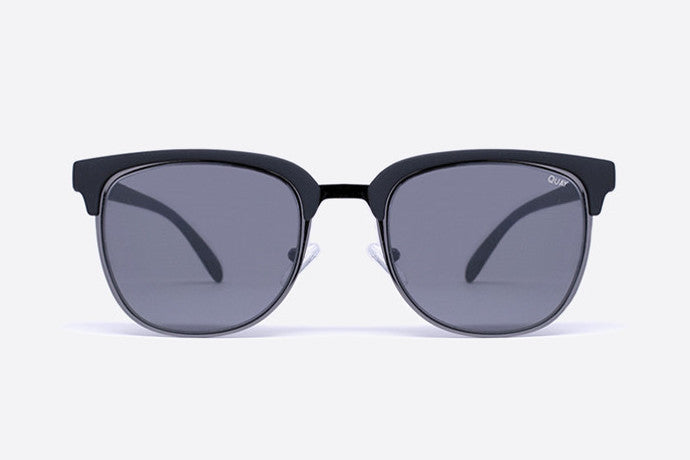 Quay Flint Black Sunglasses