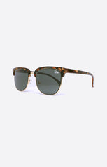 Quay Flint Tortoise Shell / Green Sunglasses