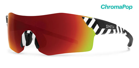 Smith - Pivlock Arena Squall Sunglasses / ChromaPop Sun Red Mirror Lenses