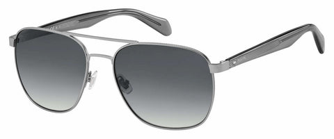 Fossil - Fos 2081 S Matte Ruthenium Sunglasses / Dark Gray Gradient Lenses