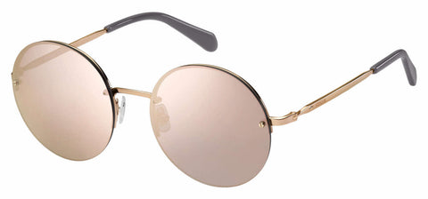 Fossil - Fos 2083 S Red Gold Sunglasses / Gray Rose Gold Lenses