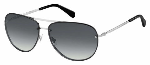 Fossil - Fos 2084 S Ruthenium Sunglasses / Dark Gray Gradient Lenses