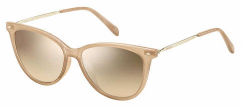 Fossil - Fos 3083 S Pink Sunglasses / Brown Mirror Gradient Lenses