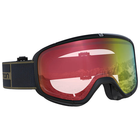 Salomon - Four Seven Photo Black Snow Goggles / Photo Red Lenses
