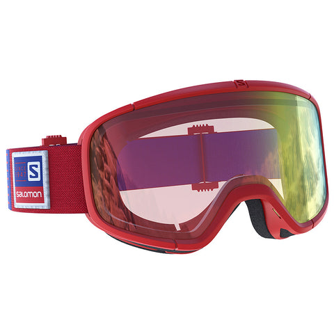 Salomon - Four Seven Photo Vintage Red Snow Goggles / Photo Red Lenses