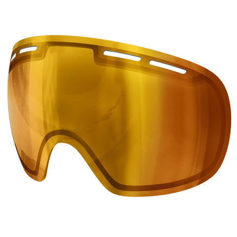 POC - Fovea Archive Pink + Gold Mirror Snow Goggle Replacement Lens