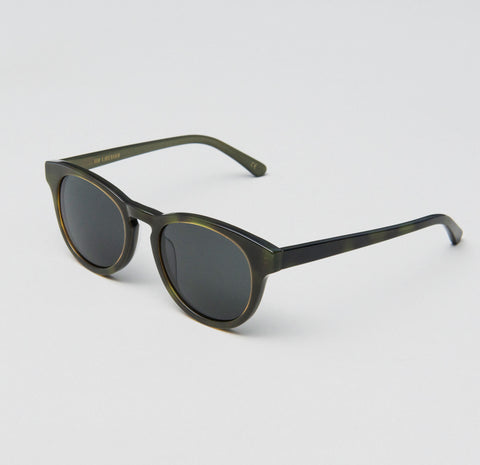 Han Kjobenhavn - Timeless 50mm Mash Sunglasses / Black Lenses