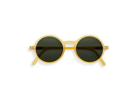 Izipizi - #G Junior Yellow Honey Sunglasses / Grey Lenses