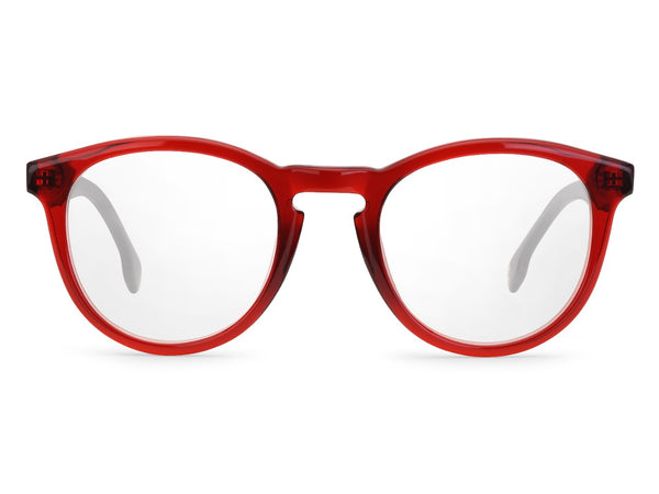 Carrera - 136 Burgundy Black Eyeglasses / Demo Lenses
