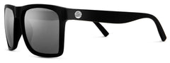 Sunski - Taravals Black Sunglasses / Slate Polarized Lenses