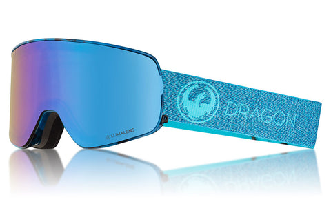 Dragon - NFX2 Mill Snow Goggles / Lumalens Blue Ion + Lumalens Amber Lenses
