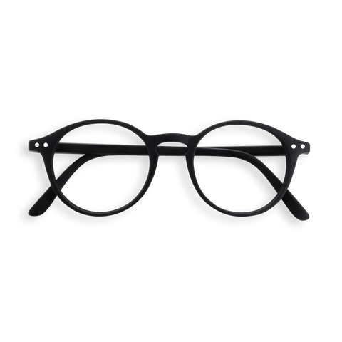 Izipizi - #D Black  Eyeglasses / Screen Blue Light Clear +1.00 Lenses