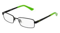 Puma - PJ0012O Junior Black Eyeglasses / Demo Lenses