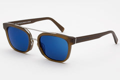 Super - Akin Deep Brown Sunglasses