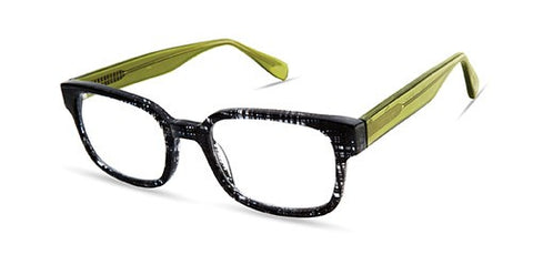 Scojo New York - Gannon Street Black Tattersall Reader Eyeglasses / +2.50 Lenses