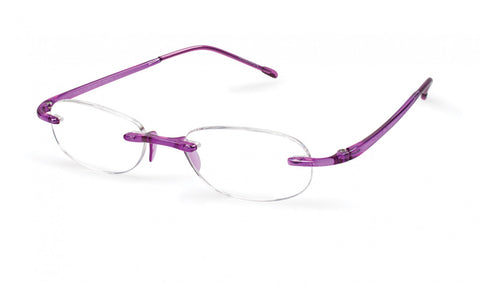 Scojo New York - Gels Original Amethyst Reader Eyeglasses / +1.25 Lenses