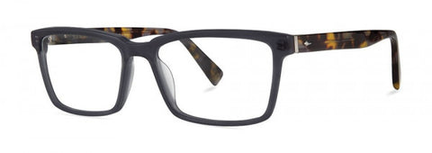 Seraphin - Kellogg Black Shadow Eyeglasses / Demo Lenses