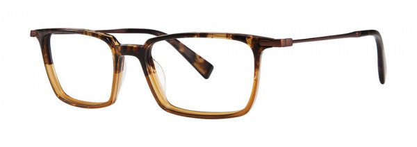 Seraphin - Barlow Tortoise + Amber Brown Eyeglasses / Demo Lenses