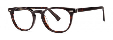 Seraphin - Bennett Dark Brown Tortoise Eyeglasses / Demo Lenses