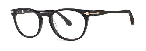 Bon Vivant - Voltaire Black Eyeglasses / Demo Lenses