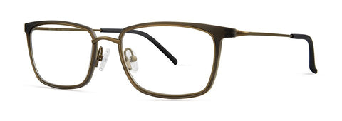 Red Rose - Lennox Flint Grey Eyeglasses / Demo Lenses