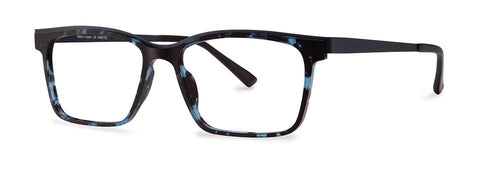 Red Rose - Warner Blue Demi Eyeglasses / Demo Lenses