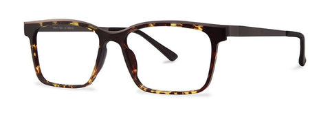 Red Rose - Warner Tortoise Eyeglasses / Demo Lenses