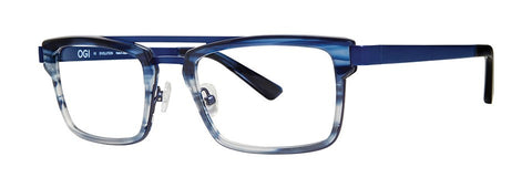 OGI - 9243 Malibu Blue Eyeglasses / Demo Lenses